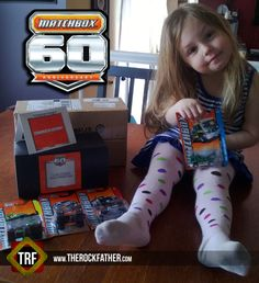 Addie becomes an official MATCHBOX Hero-in-Training...