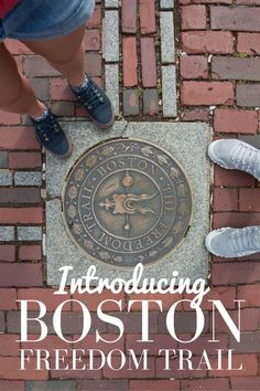 You can't visit historic Boston without walking the Freedom Trail. There are plenty of options of how to follow the trail. Guided walking tours with costumed interpreters are very popular, you could join one of the famous Boston Duck Tours if you don't fancy walking or if you want do it on the cheap you can do a self guided tour. We did this option as it gives you the freedom to spend as long as you want at each site and it's also free! Yay music to my ears.
