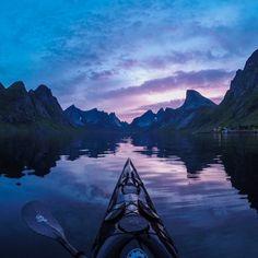 Breathtaking Photos Of Norwegian Fjords By Kayaker Tomasz Furmanek