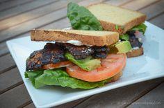 Tempeh 'Bacon' BLT #vegan
