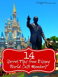 When you are going to Disney it is magical to begin with but with these 10 Secret Disney Tips from Disney Cast members your trip will be even more magical because you know the inside scoop and secrets right from cast members who work there!