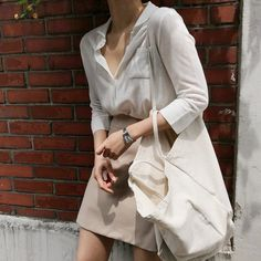 Casual Work Outfits, Classy Outfits, Ulzzang Fashion, Korean Fashion, Minimal Fashion, Colorful Fashion, Aesthetic Clothes, Casual Chic, Poses