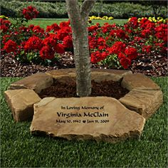 This Is A Wonderful Idea For The Memorial Garden Which Will Allow Us To Remember Those