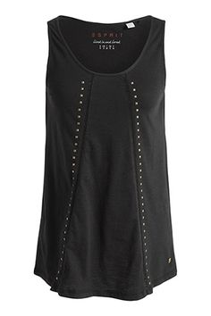 Esprit - flared studded top at our Online Shop
