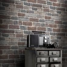 Add fashion to a teen bedroom with on-trend brick effect wallpaper from Rasch. Rasch wallpaper is available at Go Wallpaper UK. Wallpaper For Sale, Wallpaper Uk, Stone Wallpaper, Luxury Wallpaper, Designer Wallpaper, White Wallpaper, Old Brick Wall, Grey Brick, Faux Brick