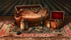 Victorian Doctor's Bag by jordangrimmer.deviantart.com on @deviantART