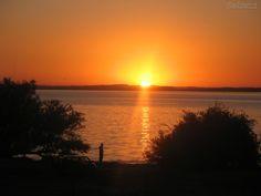 O Mais bonito Pôr-do-sol do Brasil é o Do Guaíba, Porto Alegre - Rio Grande do Sul