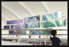 LAX Airport, Moment Factory, Sardi Design, 2014