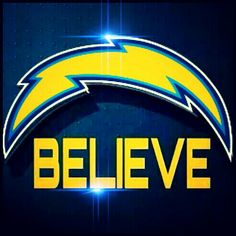 San Diego Chargers / BELIEVE Chargers Nfl, San Diego Chargers, High School Cheerleading, San Diego Padres, National Football League, Pittsburgh Steelers, Sports Logos, Toaster, Florence