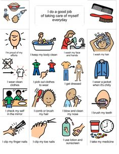 Living Well With Autism - Social Stories - Hygiene, grooming, puberty. Visual supports for sensory tools. Great site!