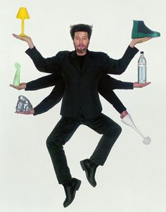 Philippe Starck, french designer ... Whenever we discover an object or a place designed by Philippe Starck, we enter a world of wall-to-wall imagination, surprises and fabulous fantasy.  For more than three decades, this unique and multifarious creator, designer and architect has been a part of our daily lives by creating unconventional objects.