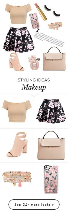 """""""Untitled #35"""" by ssollocaty on Polyvore featuring Alice + Olivia, WithChic, Kendall + Kylie, Accessorize, MANGO, Too Faced Cosmetics and Casetify"""