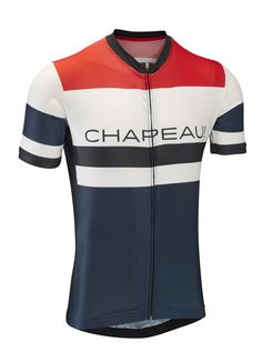 d8bd51857 Etape Jersey - White Chest Stripe - Cycling Jerseys - Men - Chapeau! Bike  Wear