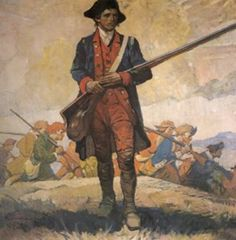 Colonial Soldier - Patriot Grandfathers I have so many. I am a Daughter of the American Revolution. Adonijah Perry, Revolutionary War Soldier from Jones County, North Carolina Revolutionary War Battles, American Revolutionary War, American War, Early American, American History, American Soldiers, British History, Military Art, Military History