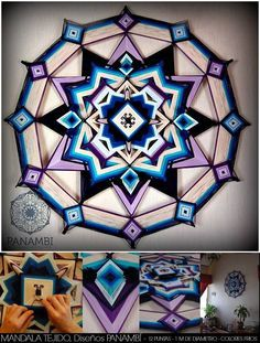 Mandalas uruguay mandala ojo de dios god 39 s eye for Cataleg punts estrella
