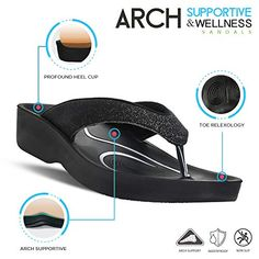 5db5336b160c80 AEROTHOTIC Original Orthotic Comfort Thong Sandal and Flip Flops with Arch  Support for Comfortable Walk
