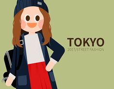 """Check out new work on my @Behance portfolio: """"2017 TOKYO girl's fashion in S/S"""" http://be.net/gallery/51736687/2017-TOKYO-girls-fashion-in-SS"""