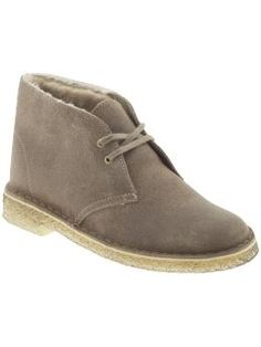 Clarks Desert Snug (i know its almost summer, but the sherpa lining! perfect, easy go to for fall/winter)  | Piperlime