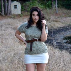 Nadia curvy fashion blogger