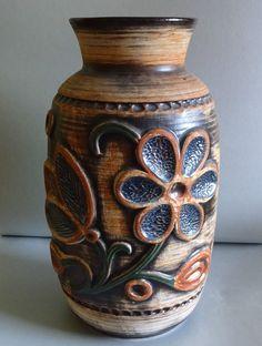 Bay Keramik Vase Bodenvase ca. 60er Jahre    eBay