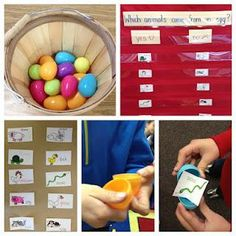 Easter and Spring Animal Sorting Kindergarten Lesson Plan
