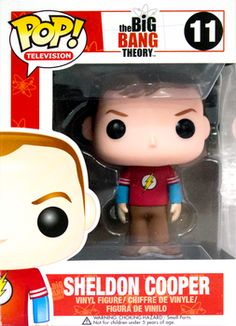 Big Bang Theory - Sheldon POP! Vinyl Flash Shirt Exclusive