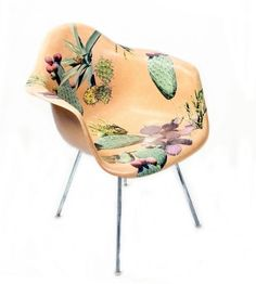 Buy or DIY: Decoupaged Eames Chairs