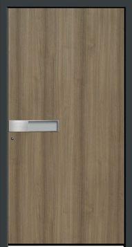 6497.ED Kleur/Folie   Decor AnTeak Iso-glas   n.v.t. Greep   Geïntegreerde edelstalen schaalgreep V103 Bijzonderheden   - De edelstalen schaalgreep V 103 is alleen leverbaar in combinatie met een vleugeloverdekkend deurpaneel.  Premium panelen worden afhankelijk van de gewenste uitvoering vervaardigd uit GFK, HPL, epoxy, PVC of aluminium platen met een hardschuimen kern. Bij deurpanelen uit deze serie heeft u een nagenoeg onbeperkte keuze in (RAL)kleuren, (renolit)folies, beglazingen Door Handles, Doors, Home Decor, Door Knobs, Decoration Home, Room Decor, Home Interior Design, Home Decoration, Interior Design