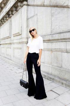 Monochrome + Chanel Bag
