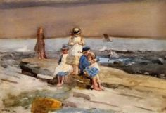 Winslow Homer – Children on the beach