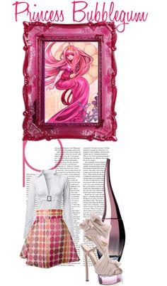 """29. Princess Bubblegum"" by ukari ❤ liked on Polyvore"