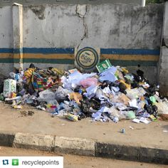 #Repost @recyclepoints with @repostapp.  This is the Waste...