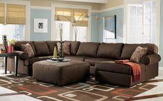 $750 American Furniture Warehouse -- Virtual Store -- Brando-Cafe 3 Piece Sectional