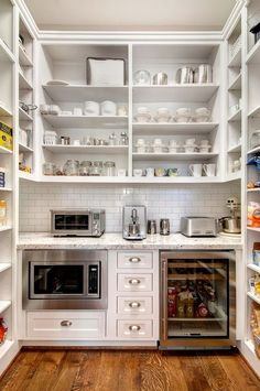 Check out these amazing pantries and butler's pantries for tons of inspiration and great ideas!