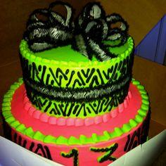 13th birthday cake!