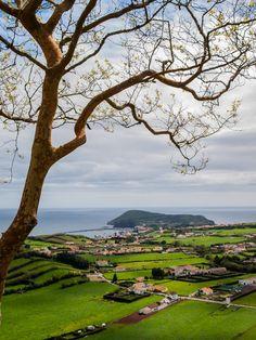Faial island landscape, Azores, Portugal