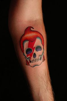 if I haven't already done my Bowie tattoo, this would be one of the inspirations! (although I love my chameleon <3)