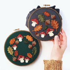 Floral Embroidery Patterns, Simple Embroidery, Modern Embroidery, Hand Embroidery Patterns, Vintage Embroidery, Cross Stitch Embroidery, Embroidery Hoops, Embroidery Sampler, Creative Embroidery
