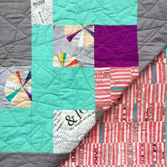 Colorwheel Quilt by LoveofPattern on Etsy