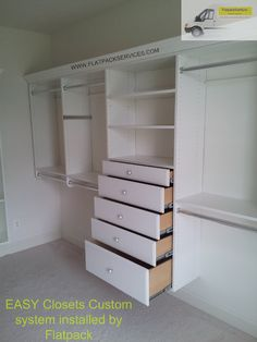 Easy Closet Custom Closet Assembled And Installed By Flatpack Assembly 240  603 2781 IKEA Assembly In Northern Virginia Assembly U0026 Installation Company  In ...
