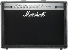 Marshall MG102CFX 100W 2x12 Guitar Combo Amp.  Sebuah gitar amplifier yang ideal untuk latihan dengan tonal analog dan efek digital yang solid.. Amplifier Marshall MG102CFX Combo adalah amplifiier yang  ideal untuk berlatih dan bahkan bermain dalam format band kecil. Dilengkapi serat karbon tebal, efek digital yang solid dan telah diakui kehebatannya, dengan jantung tonal analog MG