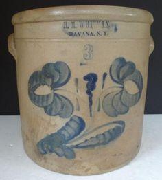 Havana NY stoneware