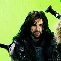 Kili looks like a teenage girl who has just found out that her crush likes her.