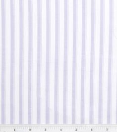Nursery Baby Basic- Stripe Lilac & nursery fabric at Joann.com