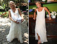 Casamento de Adriane Galisteu: vestidos da noiva e das convidadas