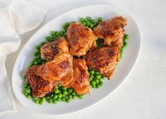 How to Make Grilled BBQ Chicken Thighs