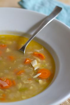 Chicken & Rice Soup