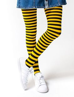 ME BEFORE YOU - Bumble Bee Tights Inspired by the Movie – In theaters June 3
