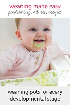 Weaning your baby? Our range of weaning pots ensure your baby is eating the right portions. Perfect for storing baby purees, our pots are designed to support each developmental stage and comes with a free weaning portion guide. Baby Weaning, Baby Puree, Batch Cooking, Food Storage Containers, Our Baby, Make It Simple, Pots, Stage, Parenting