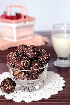 Boules d'énergie au chocolat à personnaliser - Nutrition etc.